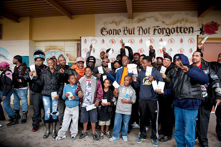 Peace Rides Roll Through Watts
